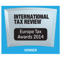 International Tax Review European Tax Awards 2014 UK Transfer Pricing Firm of the Year