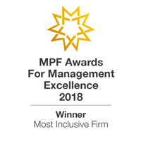 MPF award most inclusive firm  Internatiaonal Firm of the Year