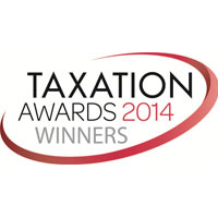 LexisNexis Awards 2014 Best Tax Team in a National Firm Corporate and International Tax and Transfer Pricing team