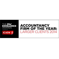 The FDs' Excellence Awards 2014 Accountancy Firm of the Year (Larger Clients)