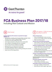 Compliance tip: Responding to the FCA's Business Plan