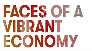 Faces of a vibrant economy video